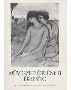 Művészettörténeti értesítő XLVI. évf. 1-2. szám - Mojzer Miklós