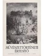 Művészettörténeti értesítő XXXIV. évf. 1-2. szám - Mojzer Miklós