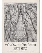 Művészettörténeti értesítő XXXV. évf. 1-2. szám - Mojzer Miklós
