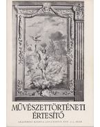 Művészettörténeti értesítő XXXVII. évf. 3-4. szám - Mojzer Miklós