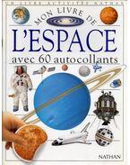 Mon livre de l'espace avec 60 auto collants