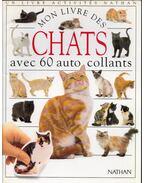 Mon livre des chats avec 60 auto collants