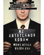 Az ártatlanok kora (dedikált) - Mong Attila, Vajda Éva