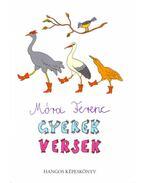 Gyerekversek– hangos képeskönyv + CD - Móra Ferenc
