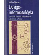 Design-informatológia - Müller Ferenc