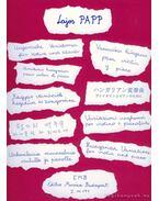 Magyar variációk (hegedű és zongora) - Papp Lajos