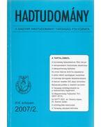 Hadtudomány XVII. évfolyam 2007/2. - Nagy László