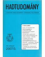 Hadtudomány XVII. évfolyam 2007/3. - Nagy László