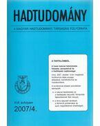 Hadtudomány XVII. évfolyam 2007/4. - Nagy László