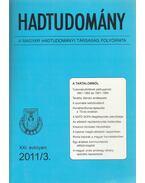 Hadtudomány XXI. évfolyam 2011/3. - Nagy László
