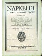 Napkelet XIII. évf. 6. szám - Tormay Cécile