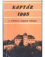 Naptár 1995 a szlovéniai magyarok évkönyve