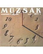 Múzsák Múzeumi Magazin 1977/1 - Nemes Iván