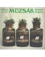 Múzsák múzeumi magazin 1981/4 - Nemes Iván