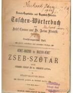 Német-magyar és magyar-német zseb-szótár - Németh Antal, Csemez József