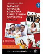 Társalgás, szituációk, képleírások, és hallás utáni szövegértés angolul - MP3 CD melléklettel - Második kiadás - Némethné Hock Ildikó