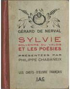 Sylvie et les poésies - Nerval, Gérard de