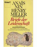 Briefe der Leidenschaft 1932-1953 - Nin, Anais, Henry Miller