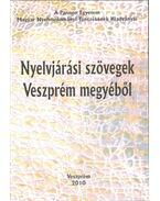 Nyelvjárási szövegek Veszprém megyéből - H. Tóth Tibor