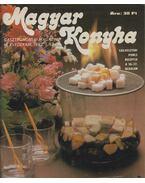 Magyar Konyha 1982 - Egybekötött teljes évfolyam - Nyerges Ágnes