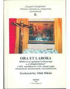 Ora et labora - Hitélet és az egyházak tevékenysége a