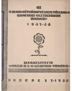 Az O. M. Kir. Képzőművészeti Főiskola Grafikai Osztályának munkáiból 1932-33 - Varga Nándor Lajos