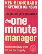 The One Minute Manager - Ken Blanchard, Johnson, Spencer