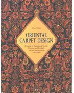 Oriental Carpet Design - P.R.J. Ford