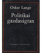 Politikai gazdaságtan II. - Oskar Lange