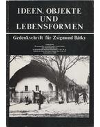 Ideen, Objekte und Lebensformen (különnyomat, dedikált) - Paládi-Kovács Attila (szerk.), Gunda Béla, Lukács László