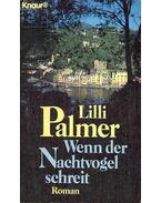 Wenn der Nachtvogel schreit - Palmer, Lilli