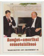 Szovjet-amerikai csúcstalálkozó - Pálos Tamás