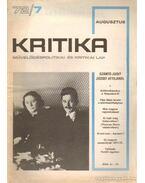 Kritika 72/7 - Pándi Pál