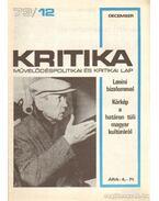 Kritika 73/12 - Pándi Pál