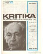 Kritika 74/10 - Pándi Pál