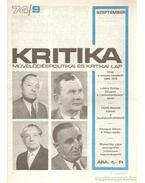 Kritika 74/9 - Pándi Pál