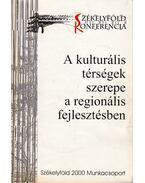 A kulturális térségek szerepe a regionális fejlesztésben - Papp Kincses Emese, Kassay János, Kánya József