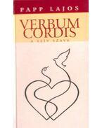 Verbum Cordis (dedikált) - Papp Lajos