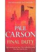 Final Duty - Paul Carson