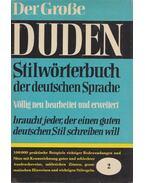 Stilwörterbuch der deutschen Sprache - Paul Grebe
