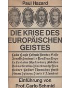 Die Krise des europäischen Geistes - Paul Hazard