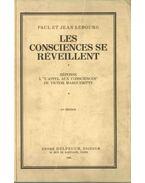 Les consciences se réveillent - Paul Lebourg, Jean Lebourg