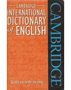 Cambridge International Dictionary of English - Paul Procter