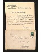 Pekár Gyula levél - Pekár Gyula