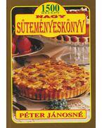 Nagy süteményeskönyv - Péter Jánosné