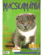 Macskamánia I. évfolyam 5. szám 2001. október-november - PetMedia Bt. (szerk.)