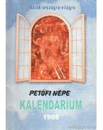 Petőfi népe kalendárium 1998.