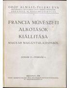 Francia művészeti alkotások magyar magántulajdonból - Petrovics Elek