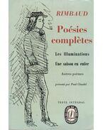Poésies completes - Rimbaud, Arthur