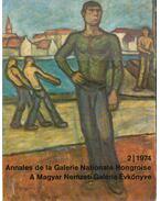 A Magyar Nemzeti Galéria évkönyve 2/1974 - Pogány Ö. Gábor
